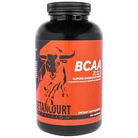 Betancourt, BCAA (аминокислоты с разветвленными цепями) в соотношении 2:1:1, 300 капсул, BEC-00331