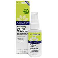 Derma E, Очищающий увлажняющий крем без масел, 1,7 унции (50 мл), DME-01250