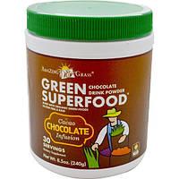 Amazing Grass, Green Superfood, шоколадный сухой напиток, 8,5 унции (240 г), AMG-93300