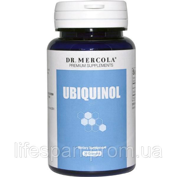 Dr. Mercola, убихинол, 100 мг, 30 капсул, MCL-01162 - lifespan в Киеве