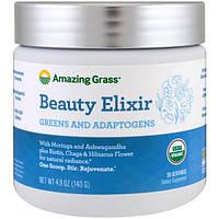 Amazing Grass, эликсир красоты, растительные составляющие и адаптогены, 140 г (4,9 унции), AMG-00567