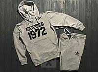 Зимний мужской спортивный костюм Adidas 1972, адидас