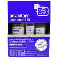 Clean & Clear, Набор для борьбы с угревой сыпью «Преимущество», 3 шт. в комплекте, CNC-16375