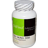 DaVinci Laboratories of Vermont, Tri-Mag 300, 120 капсул, DVI-25391