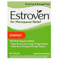Estroven, Средство при менопаузе, энергия, 40 капсул, AME-01633