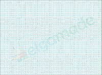 Фетр с принтом ЗВЕЗДОЧКИ ГОЛУБЫЕ МИКРО, 22x30 см, корейский жесткий 1.2 мм
