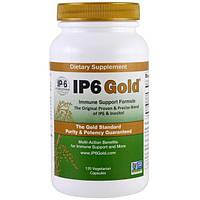 IP-6 International, IP6 Gold, формула для поддержки иммунитета, 120 капсул в растительной оболочке, IPS-10262