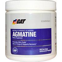 GAT, Essentials, агматин, порошок с натуральным вкусом, 75 г, GAT-22004