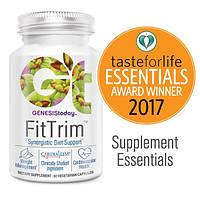"""Genesis Today, """"FitTrim"""", синергическая пищевая добавка для снижения веса и поддержания здоровья сердечно-сосудистой системы, 60 капсул в"""