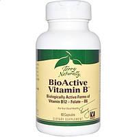 EuroPharma, Terry Naturally, Terry Naturally, биологически активный витамин В, 60 капсул (Discontinued Item),