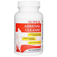 Health Plus Inc., Super Adrenal Cleanse, шаг 5, 90 капсул, HPI-55003