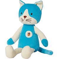 Greenpoint Brands, My Natural, мои первые обнимашки, плюшевый котик, 1  игрушка (Discontinued Item), MYM-46205