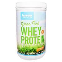Jarrow Formulas, Сывороточный белок от коров, употреблявших в пищу траву, неароматизированный, 12,7 oz (360 г), JRW-21047