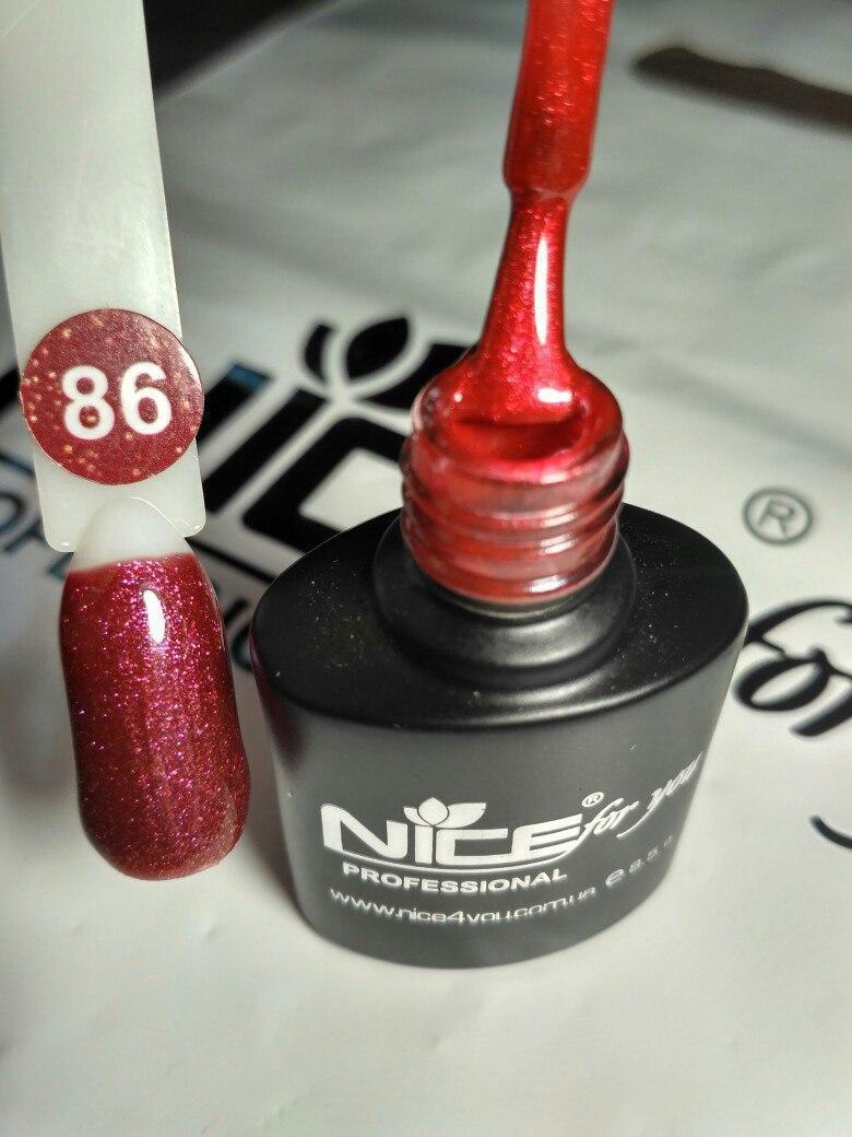 Гель-лак Nice 8,5 мл №86
