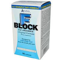 Absolute Nutrition, Поглотитель жира FBlock, 90 капсул, ABN-08853