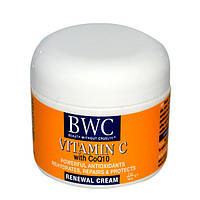 Beauty Without Cruelty, Восстанавливающий крем Витамин С с CoQ10 2 унции (56 г), BWC-45383