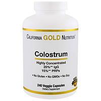 California Gold Nutrition, Концентрированное молозиво, 240 капсул, CGN-00913