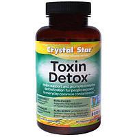 Crystal Star, Детоксин, 60 вегетарианских капсул, CSR-04155