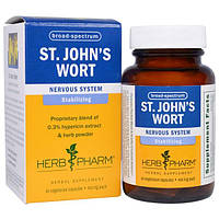 Herb Pharm, Зверобой, 460 мг, 60 вегетарианских капсул, HBP-01485