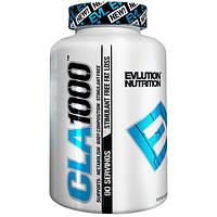 EVLution Nutrition, CLA 1000, 90 Мягких Желатиновых Капсул, EVL-90860