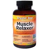 Crystal Star, Muscle Relaxer (расслабление мышц), 60 вегетарианских капсул, CSR-01250