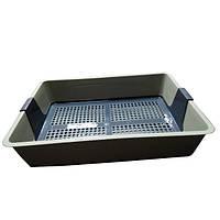 Туалет Savic Cat Tray с сеткой для кошек, 42х25,5х6,5 см