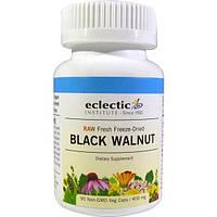 Eclectic Institute, Черный орех, 400 мг, 90 вегетарианских капсул, ECL-30920