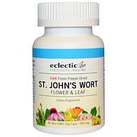 Eclectic Institute, Зверобой, 300 мг, 90 вегетарианских капсул без ГМО, ECL-30900