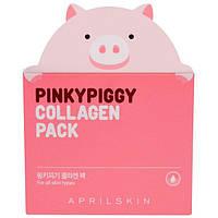 April Skin, PinkyPiggy Увлажняющий крем с коллагеном, 3,38 унций (100 г), APS-33576