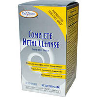 Enzymatic Therapy, Complete Metal Cleanse, 30 вегетарианских капсул (Discontinued Item), EMT-08643