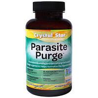 Crystal Star, Формула для борьбы с паразитами Parasite Purge, 60 растительных капсул, CSR-03600