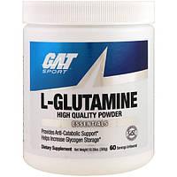 GAT, L-Glutamine, Unflavored, 10.58 oz (300 g), GAT-02168