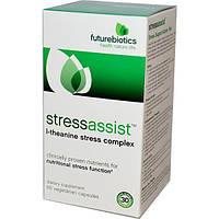 FutureBiotics, Stressassist, 60 растительных капсул, FBS-02507