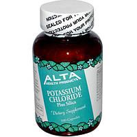 Alta Health, Калия хлорид и кремния диоксид, 100 капсул, AHP-00050