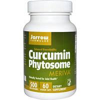 Jarrow Formulas, Фитосомы куркумина, 500 мг, 60 вегетарианских капсул, JRW-14086