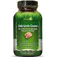 Irwin Naturals, Ежедневная мягкая очистка, 60 мягких капсул, IRW-56835