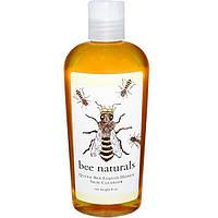 Bee Naturals, Пчелиная Матка, очищающее средство с жидкими медом для кожи, 8 унций, BNA-08181