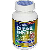 Clear Products, Средство от звона в ушах, 60 капсул, CLP-21500
