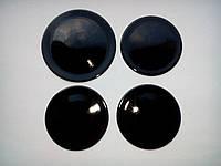 """Набор крышек плиты """"Электа"""" эмаль (черные) код товара: 7039"""