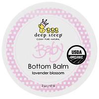Deep Steep, Органический продукт, бальзам для детской попки, цветущая лаванда, 2 унции (57 г), DEE-10469