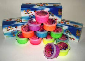 Детский шариковый пластилин разные цвета