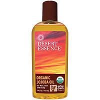Desert Essence, Натуральное масло жожобы для волос и кожи, 4 жидких унции (118 мл), DES-30029