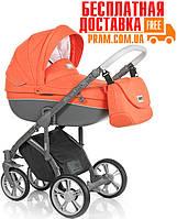 Универсальная коляска 2 в 1 Roan Bass Soft Summer Papaya Оранжевый