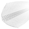 Уголок фасадный с сеткой пластиковый