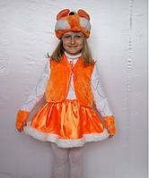 Новогодний карнавальный костюм лисички