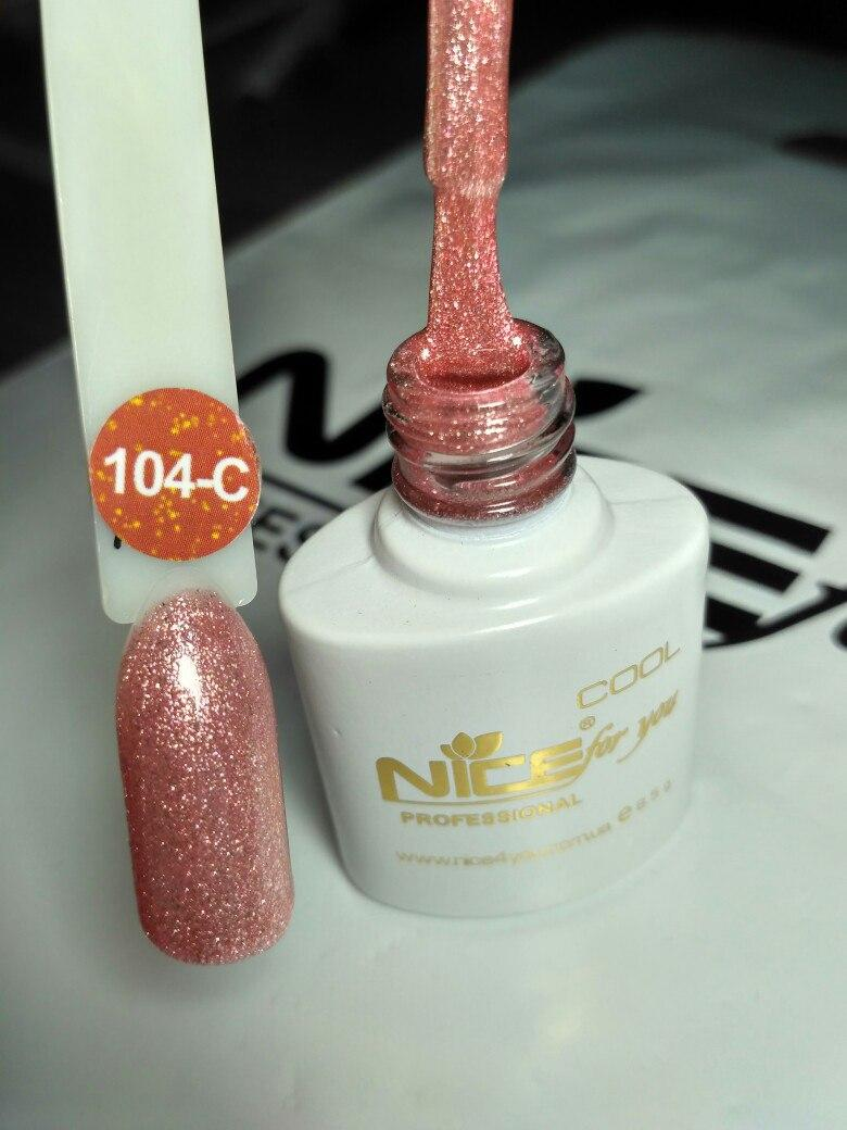 Гель-лак Nice 8,5 мл С-104
