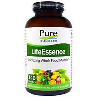 Pure Essence, LifeEssence, мультивитамины и минералы, 240 таблеток, PUR-01004