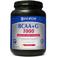 MRM, BCAA + G 1000, со вкусом лимонада, 2,2 фунта (1000 г), MRM-71027