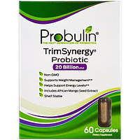 Probulin, TrimSynergy, пробиотик, 60 капсул, PBL-00370