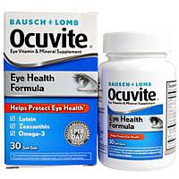 Bausch & Lomb Ocuvite, Формула здоровья глаз, 30 мягких желатиновых капсул, BOC-46535